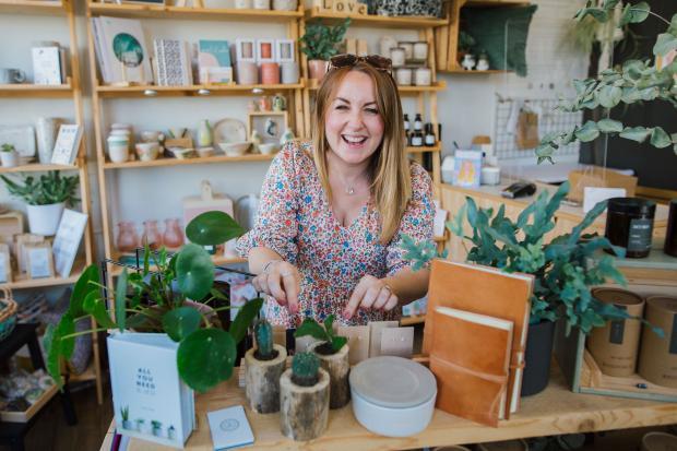 York Press: Beth Elsdon inside her shop