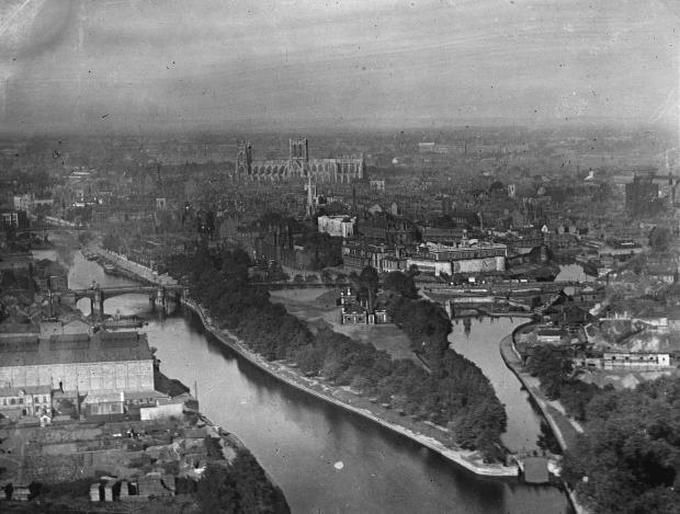 York Press: York from the air in 1890