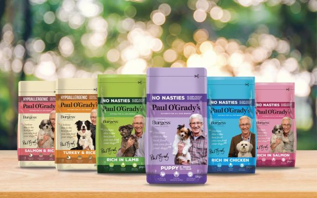 The Burgess Pet Care range with Paul O'Grady