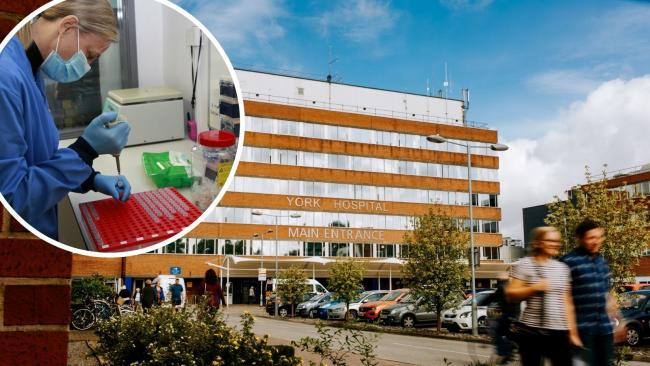 York Hospital is in the midst of tackling higher admissions from a second wave of coronavirus