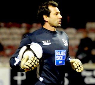 New goalkeeping coach Simon Miotto