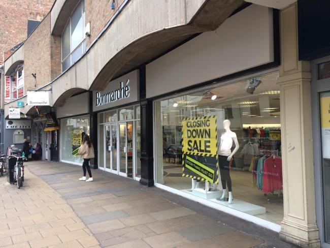 Staff are waiting to hear what the future holds at a York fashion store after it went into administration.