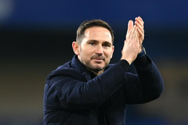 Chelsea manager Frank Lampard applauded his side's fans following the win over Leeds