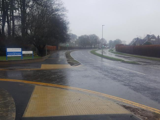 The improvements have been made to two adjacent junctions; Scalby Road/Woodlands Drive and Scalby Road/Stepney Drive Picture: NYCC