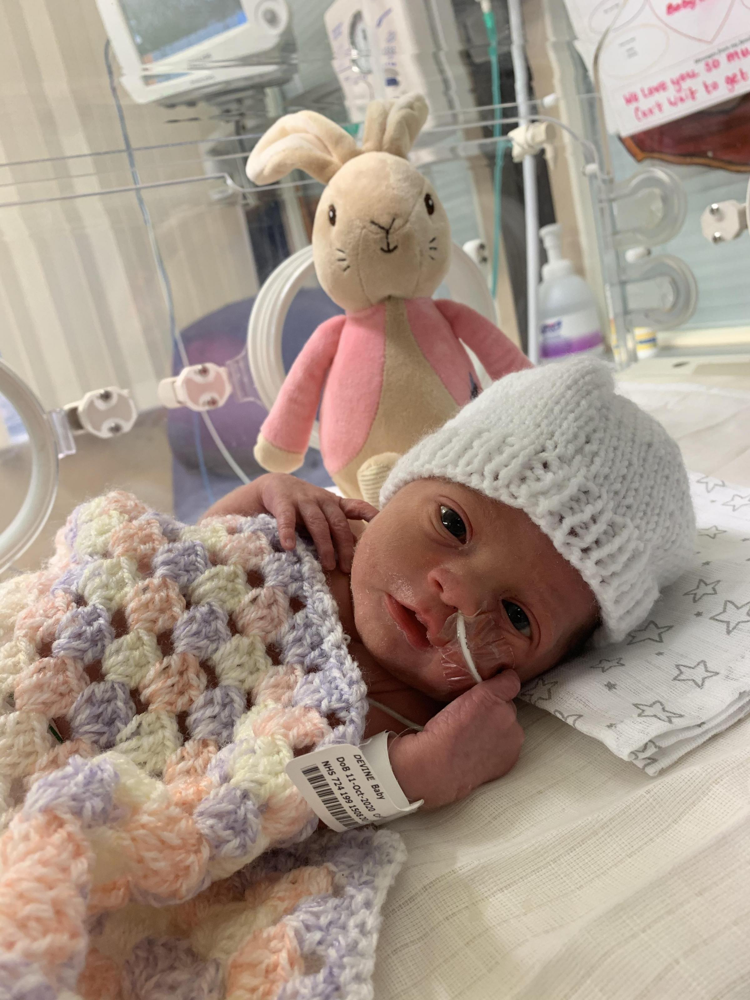 York Press: Sacara Sunday Devine-Lee, born on October 11, eight weeks premature at York Hospital weighing 3lb 14oz  to Gemma Devine and Daniel Lee of Sherburn in Elmet.