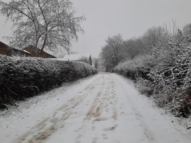 York Press: Tadcaster has been transformed into a winter wonderland