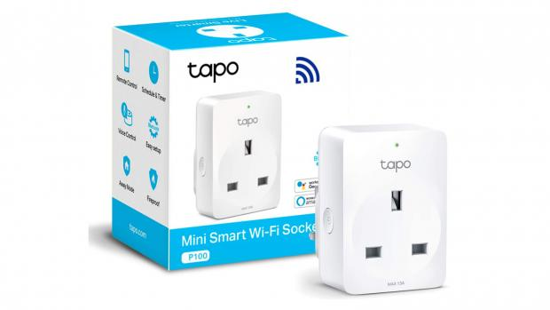 York Press: This smart outlet has two outlets that can be controlled independently. Credit: TP-Link