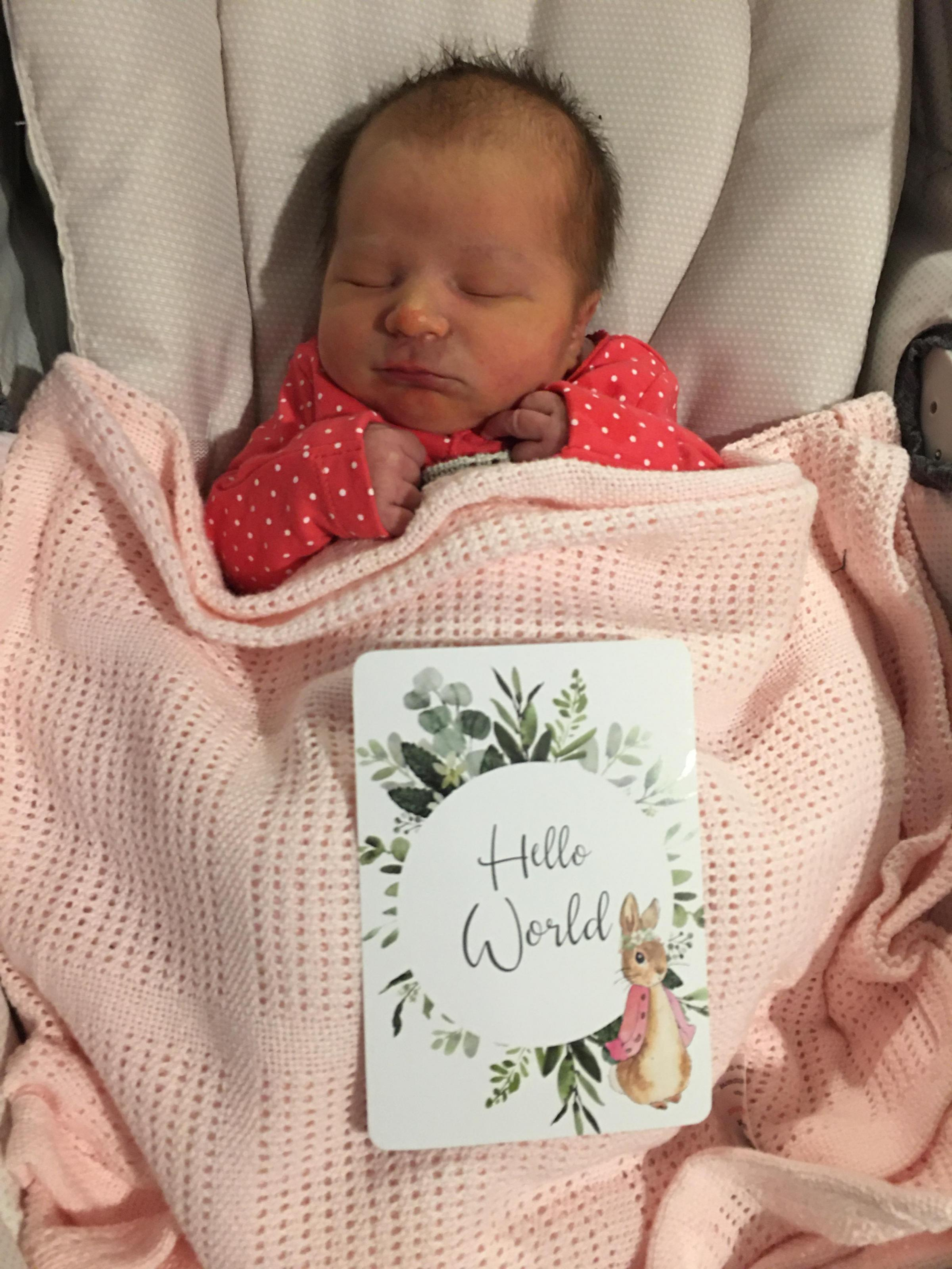 York Press: Iris Margaret-Catherine Harrison was born on November 21 weighing 7lb 5oz to Sadie Harrison and Chris Harrison of York.