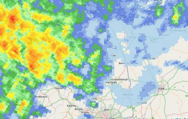 Why 'Red' and 'orange' rain in the Dales means flood trouble in York