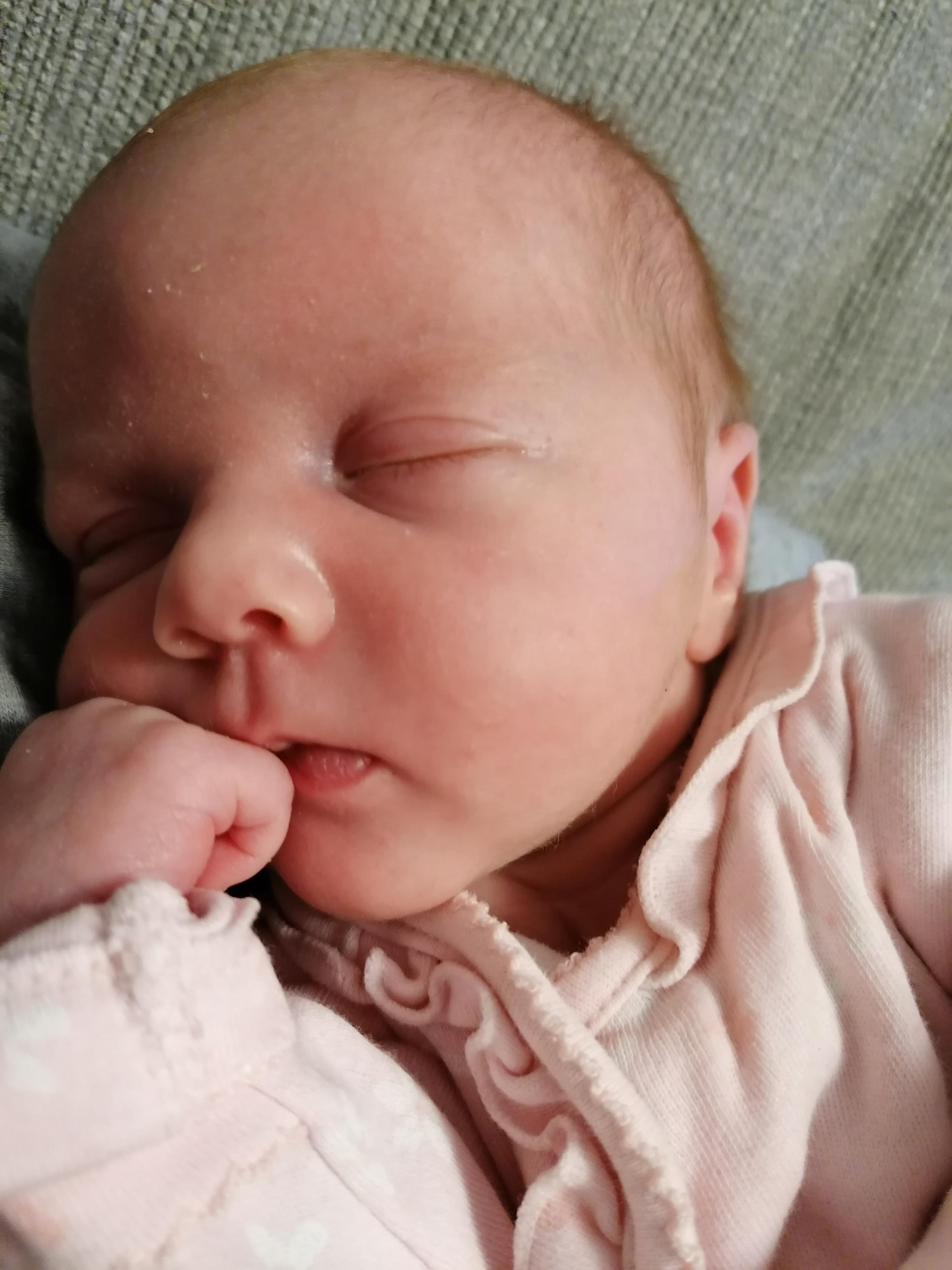 York Press: Sleeping: Zelda Miller born on  January 1 weighing 4lb5oz at York Hospital to Steph Miller Simon Forwood of Acomb