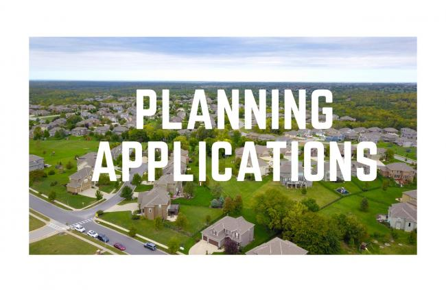 Planning applications png artwork block