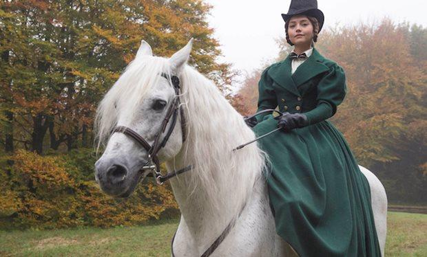 York Press: Jenna Coleman as Victoria, which was partly filmed at Castle Howard