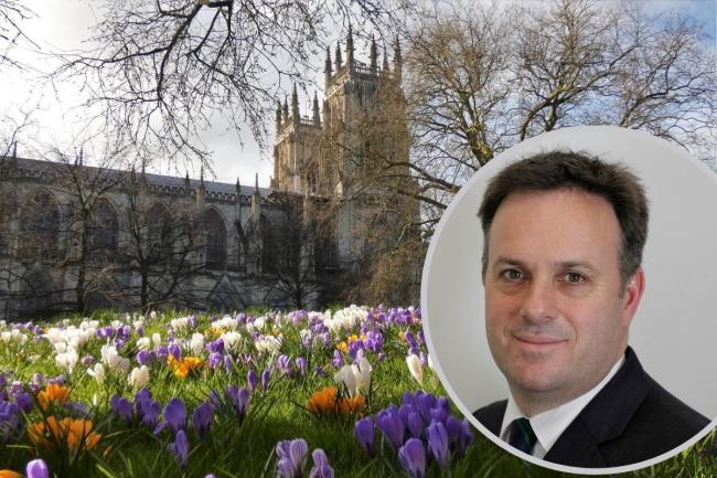 MP Julian Sturdy represents York Outer