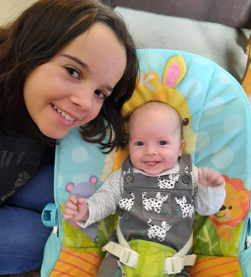 York Press: Aiden and his sister Kira
