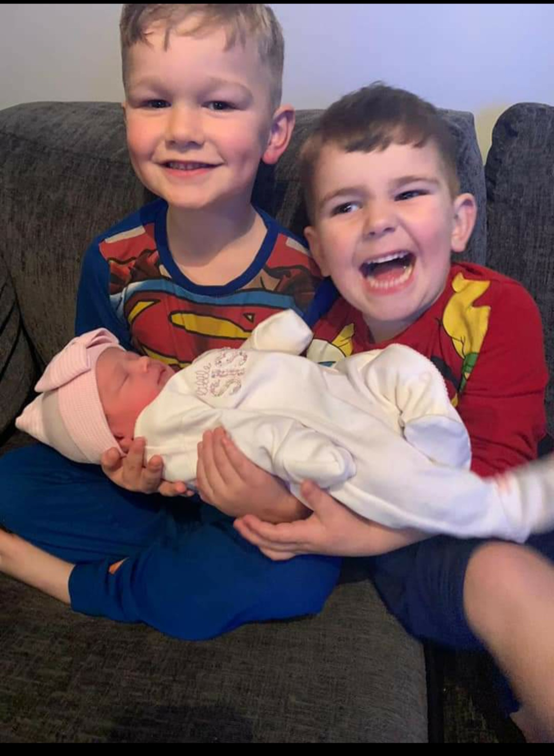 York Press: River with big brother Dexter and Jenson