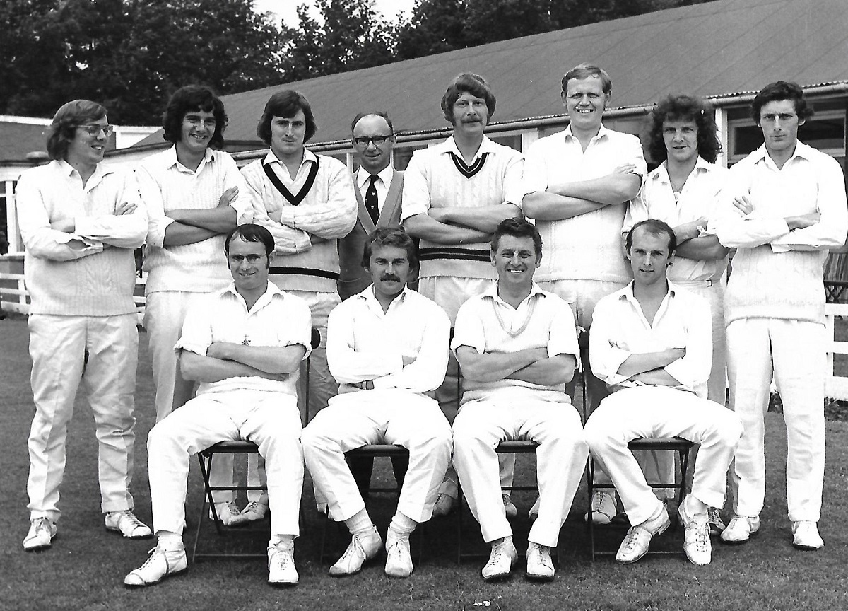 ROWNTREES CC MYERS & BURNELL XI 1973
