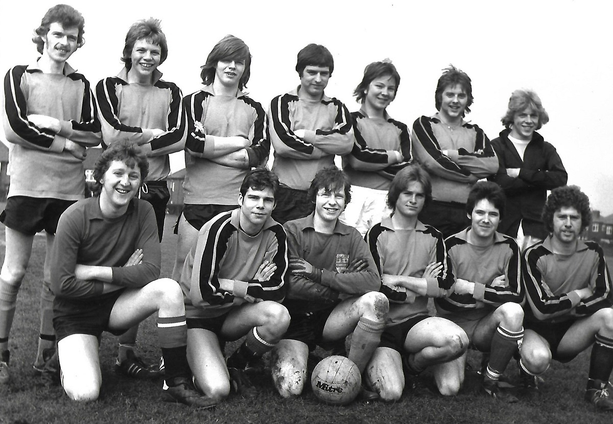 68 YOUTH CLUB FOOTBALL TEAM 1978