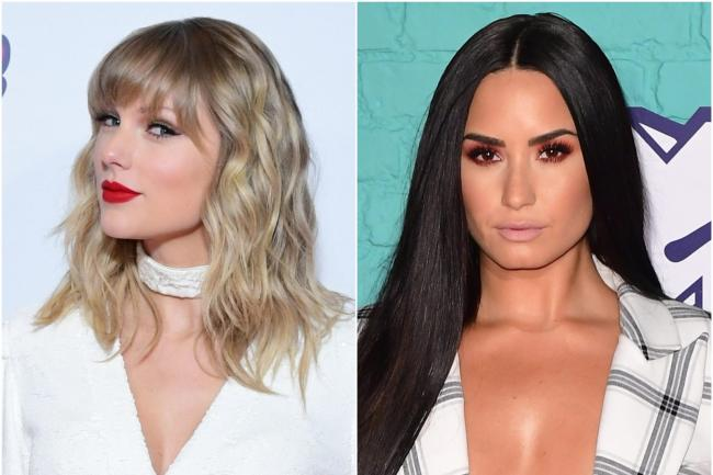 aylor Swift and Demi Lovato