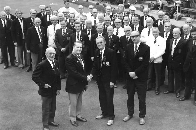 YORK BOWLS ASSOCIATION AND ACOMB BOWLING CLUB 1977