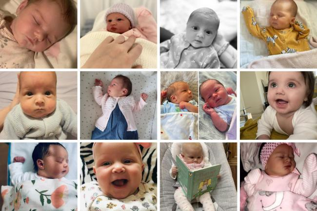 Just some of the lockdown babies born in York in recent months - sent in by Press readers