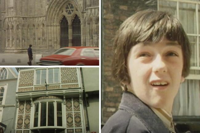 Eric Coates gives his video tour of York in 1976 for the BBC