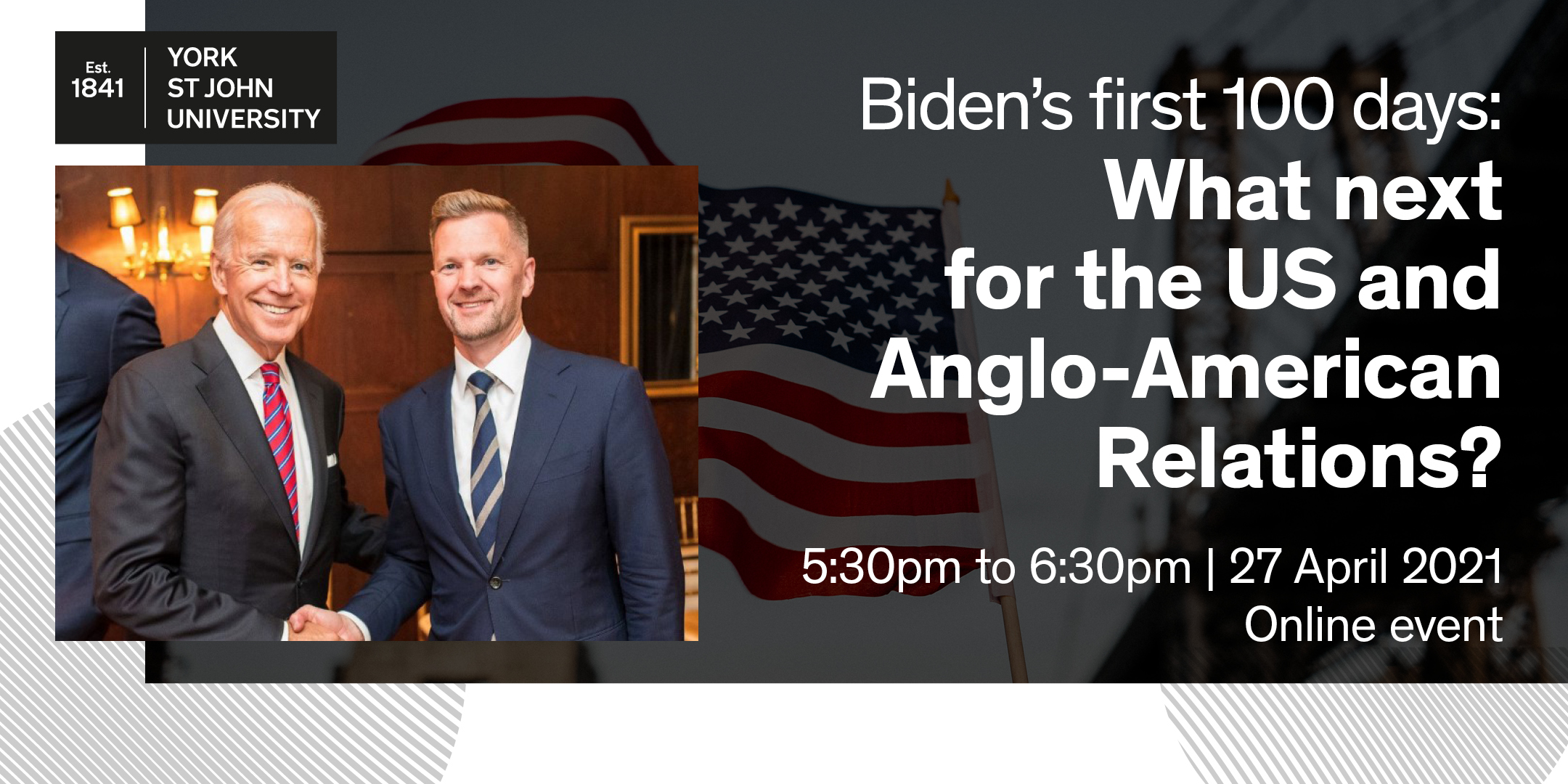 Biden's first 100 days: What next for the US and Anglo-American relations?