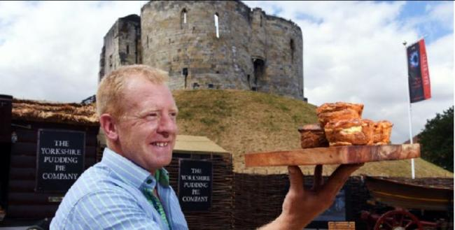 Ted Harrison, of The Yorkshire Pudding Pie Company which is investing £150,000 to meet growing demand.