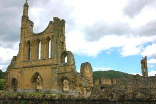 York Press: Byland Abbey where the monks lived in the 12th century. Pictures: Brian Beadle