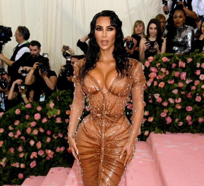 Kim Kardashian West - in the outfit that made Press reader Maureen laugh