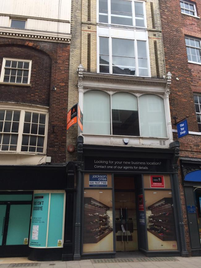 The shop premises at 34, Coney Street, which have potential for the conversion of upper storeys to residential use, sold for £465,000 at auction today