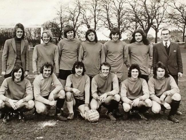 CROWN HOTEL SATURDAY TEAM 1972-73