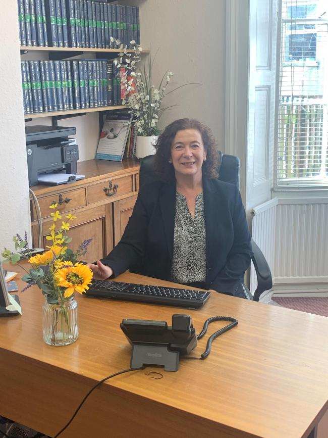 Alison Lewis heads up the new family law department at Birdsall & Snowball's offices in Scarborough.