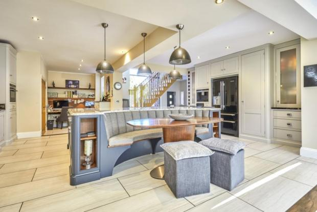 York Press: The large kitchen space. Photo taken from Croft Residential/Rightmove
