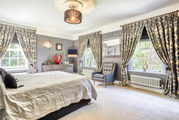 York Press: One of five bedrooms. Photo taken from Croft Residential/Rightmove