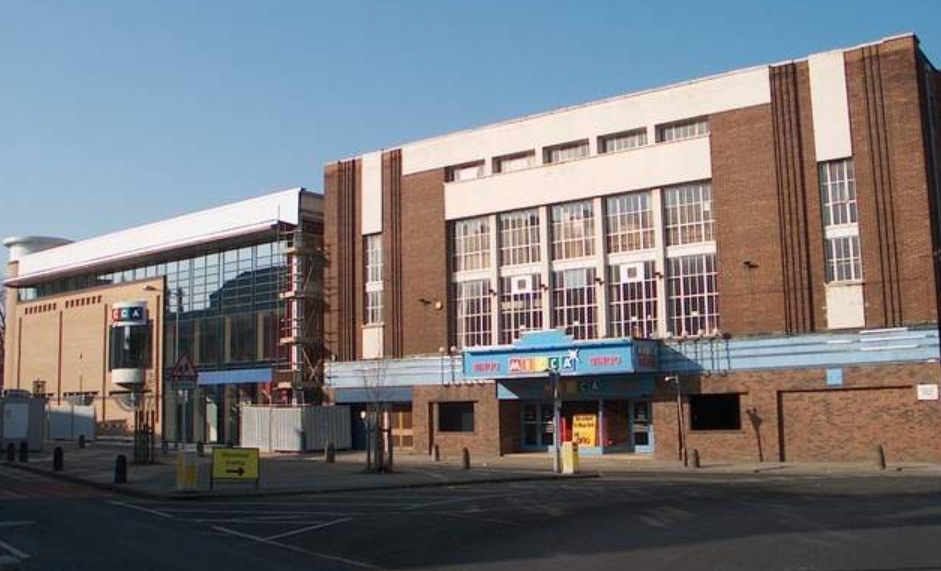 Side by the side - the new and the old Mecca bingo halls in Fishergate