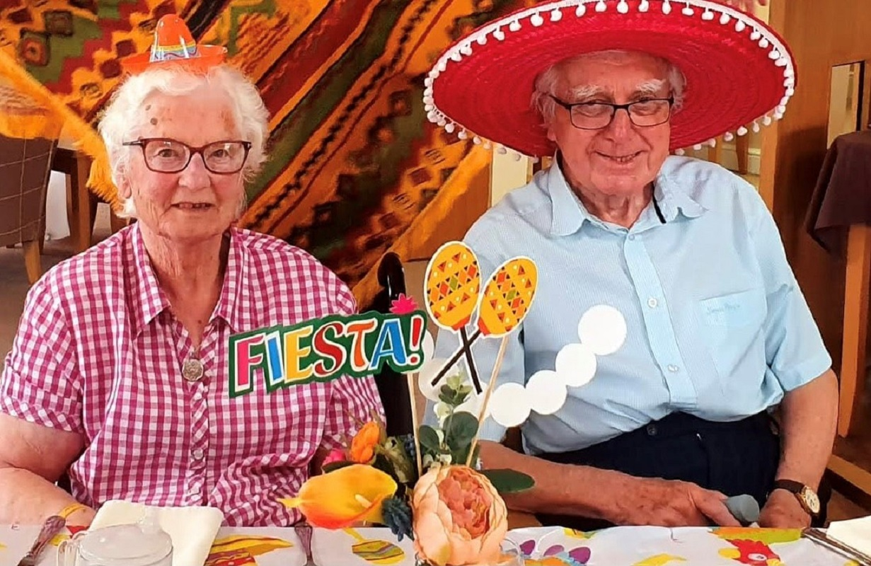 Maureen and Mike celebrate 55 years together at Thirsk home