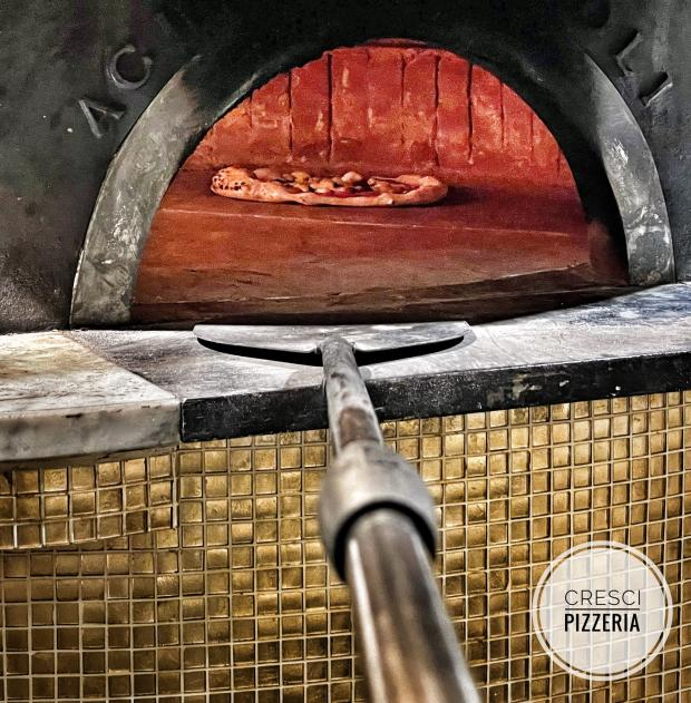 York Press: Special pizza oven at Cresci