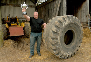 Mark Westaby wins regional finals of the England's Strongest Man contest