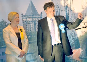 York Press: General Election night pictures