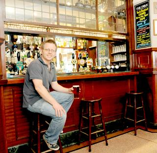 York Press: Landlord Paul Crossman inside The Swan, Clementhorpe, which has been made a Grade II listed building