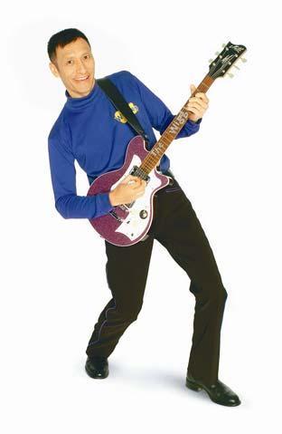 wiggles purple guitar
