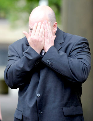 "Paul Barrett, who was fined £3,500 and given 250 hours community punishment for ""shill  bidding"" on eBay"