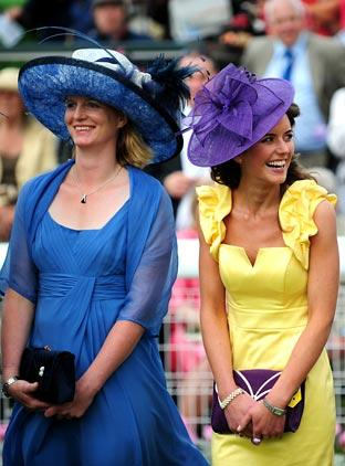 Ladies Day at York's Ebor Festival
