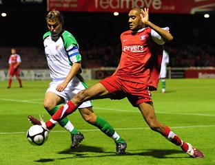 York City's Jamal Fyfield in action