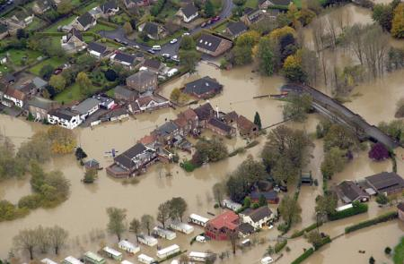 November 2000 York area floods