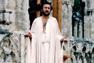 Victor Bannerjee in the 1988 plays, the last time they were staged in the Museum Gardens
