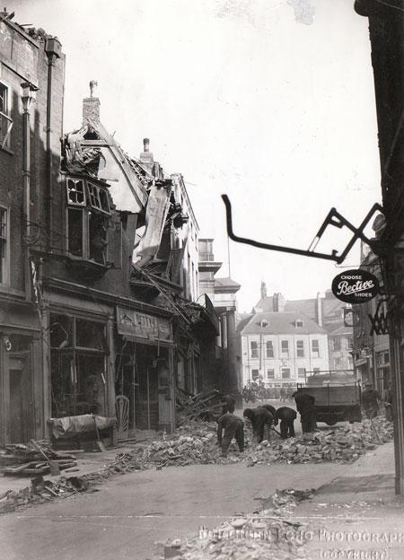York Air Raid, 29 April 1942. Blake Street.