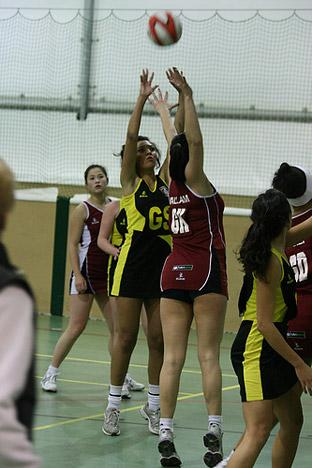 University of York netball first team en route to defeat by Sheffield Hallam. Picture: Justyn Hardcastle