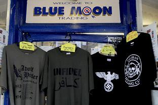 T-shirts at Blue Moon Trading in Goodramgate