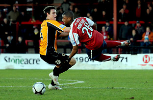 York City 0, Boston United 1 - FA Trophy, first round